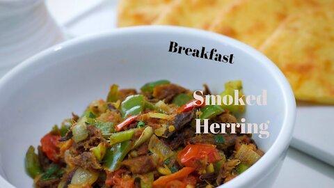 Keto Breakfast Smoked Herring