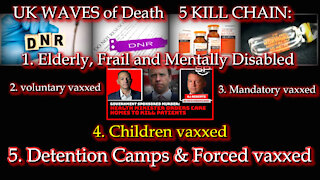2021 OCT 21 Vaccine Murder Charges Accepted by Prosecutors Officials Intentionally Killed Patients