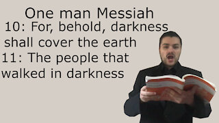 One man Messiah - The people that walked in darkness - Handel