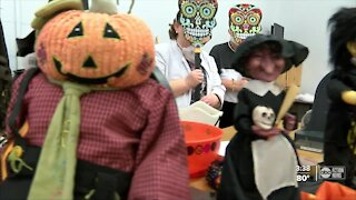 Adults with developmental disabilities re-energized with creation of haunted house