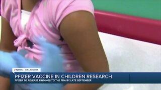 Pfizer Vaccine in Children Research