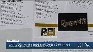 Local Company Challenges Others to Give Back to Employees During COVID-19