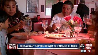 Donatello Restaurant keeps Thanksgiving tradition alive by providing dinner for families