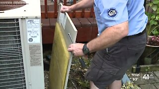 Extreme heat keeps AC technicians busy in Kansas City metro