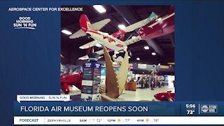 Florida Air Museum reopens soon
