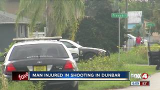 One injured in Dunbar shooting Wednesday morning