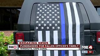 Hundreds fundraise for Fort Myers Officer that passed