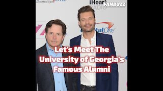 Famous Alumni from University of Georgia