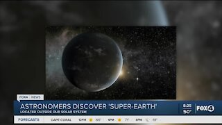 Super earth discovered outside solar system