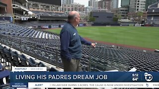 Padres Director of Stadium Operations retires after 36 years