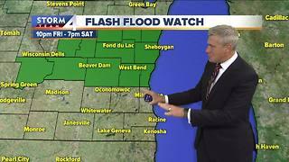 Flash flood watch begins Friday night