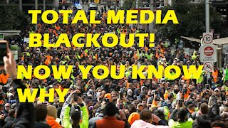 TOTAL MEDIA BLACKOUT, NOW YOU KNOW WHY (HUGE TURNOUT)