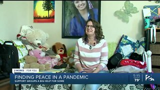 Finding peace during a pandemic through support groups