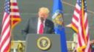 President Trump visits Fincantieri Marinette Marine