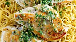 (S1E19) Chicken with Lemon Caper Sauce