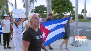 Rally for Cuba held in West Palm Beach