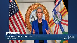 Mayor Castor hoping to issue stay-at-home order for Tampa on Wednesday