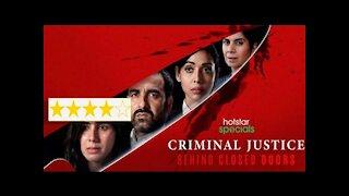 Criminal Justice - Behind Closed Doors Review | Pankaj Tripathi | Just Binge Review