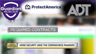 Home security amid the coronavirus pandemic