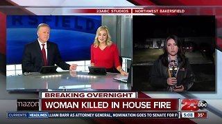 Woman killed in house fire Thursday night