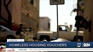 Homeless housing vouchers