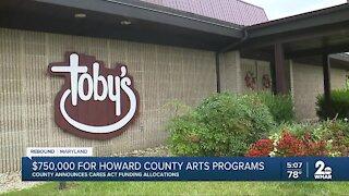 Howard County arts community awarded CARES Act grants