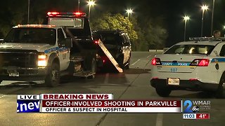Baltimore County Police investigating officer-involved shooting in Parkville
