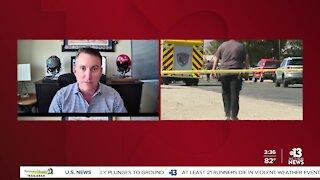 EXCLUSIVE: Retired Brigadier General Novotny on crash in Las Vegas