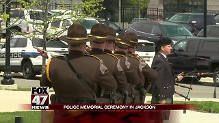 Police memorial service to be held in Jackson