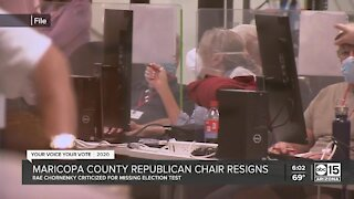 Maricopa County Republican Chair resigns