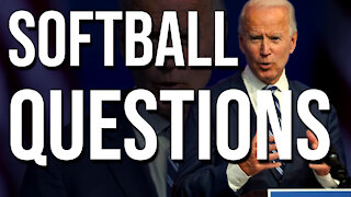 The Media Throws Biden Softball Questions!