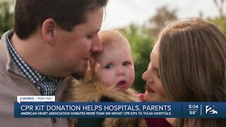 CPR Kit Donations Helping Hospitals and Parents