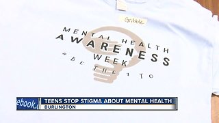 Teens stop stigma about mental health