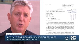 Payout for former Tempe police chief, wife