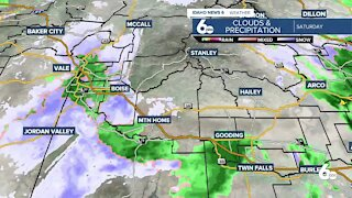 Frankie Katafias gives viewers a live look at the first snowfall of the season!