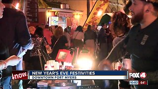 Downtown Fort Myers New Year's festivities
