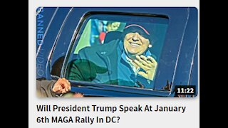 Will President Trump Speak At January 6th MAGA Rally In DC?