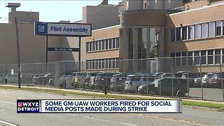 Some GM-UAW workers fired for social media posts made during strike