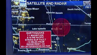 13 Action News meteorologist gives earthquake update