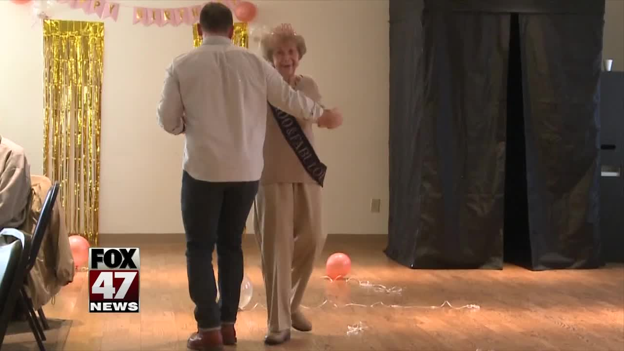 Local woman celebrates turning 100