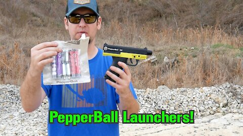 PepperBall TCP & Compact Launchers : TTAG Range Review