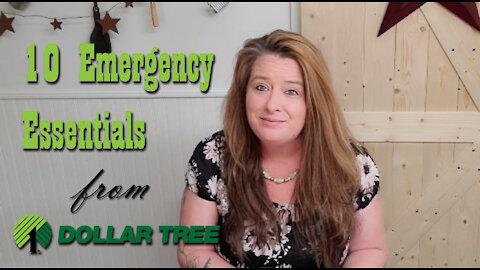 10 Dollar Tree Emergency Essentials ~ Budget Prepping