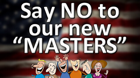 """Say NO to our new """"MASTERS"""""""