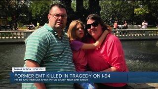 Former EMT killed in tragic accident on I-94