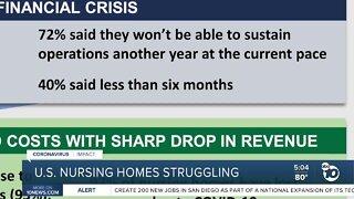Financial struggles at U.S. nursing homes