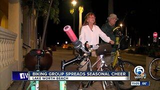 Bicyclers tour Lake Worth Beach weekly