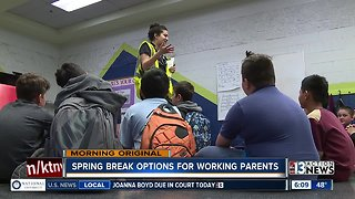 Spring Break Options for Working Parents