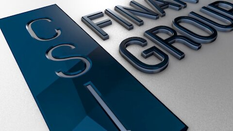 CSI Financial 3D Logo Animation
