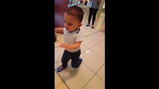 Trying to walk