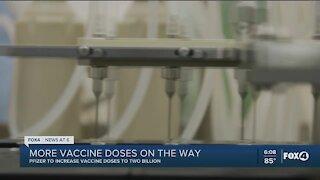 Pfizer increasing vaccine production